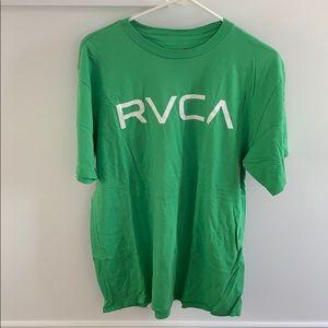 RVCA green tee